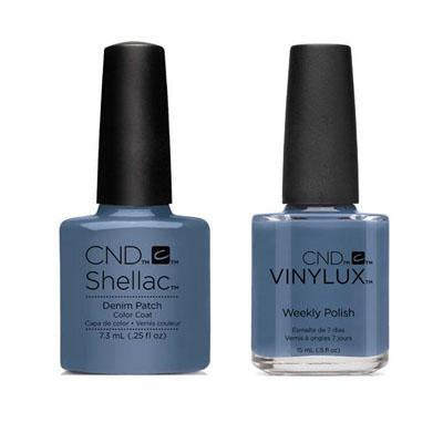 CND - Shellac & Vinylux Combo - Denim Patch