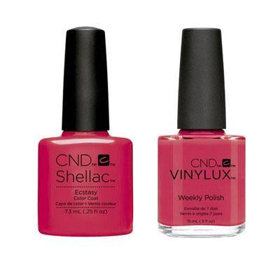 CND - Shellac & Vinylux Combo - Ecstasy