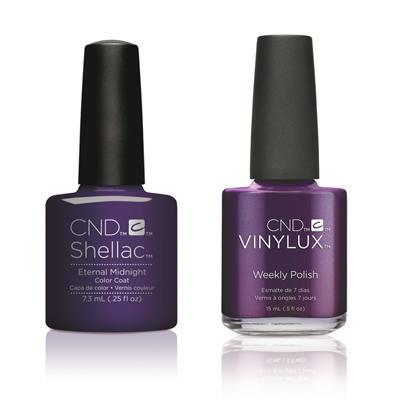 CND - Shellac & Vinylux Combo - Eternal Midnight