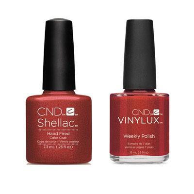 CND - Shellac & Vinylux Combo - Hand Fired
