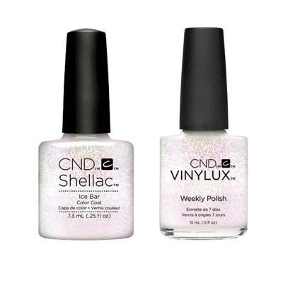 CND - Shellac & Vinylux Combo - Ice Bar