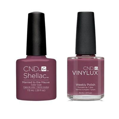 CND - Shellac & Vinylux Combo - Married To Mauve