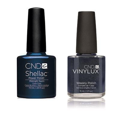 CND - Shellac & Vinylux Combo - Midnight Swim
