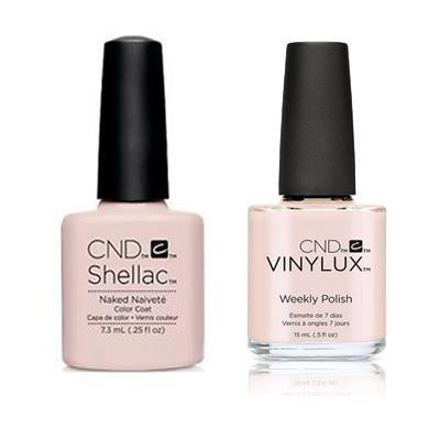 CND - Shellac & Vinylux Combo - Naked Naivete