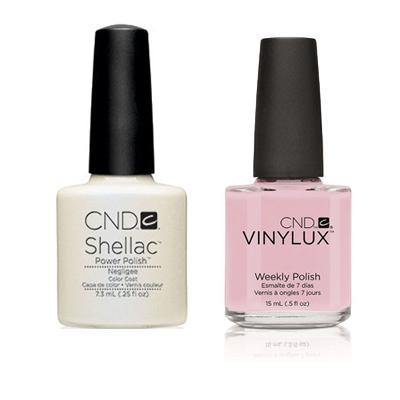 CND - Shellac & Vinylux Combo - Negligee