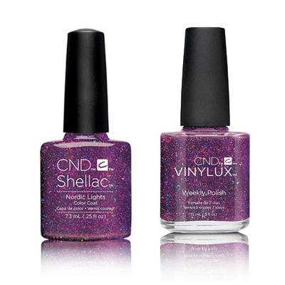 CND - Shellac & Vinylux Combo - Nordic Lights