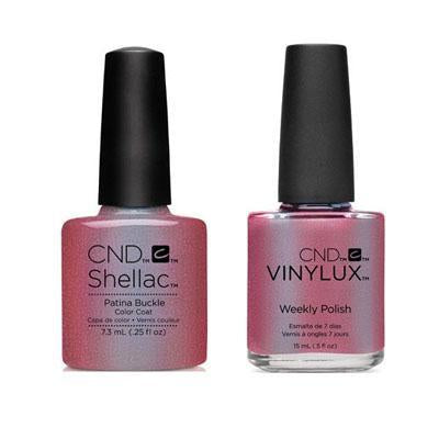 CND - Shellac & Vinylux Combo - Platina Buckle