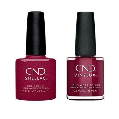 CND - Shellac & Vinylux Combo - Rebellious Ruby