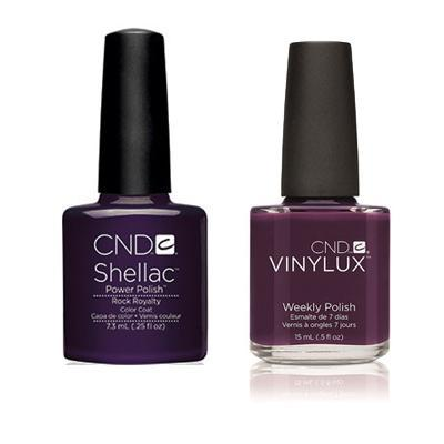 CND - Shellac & Vinylux Combo - Rock Royalty