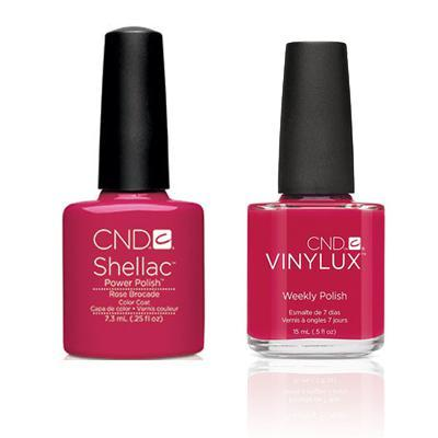 CND - Shellac & Vinylux Combo - Rose Brocade