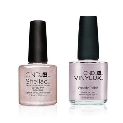 CND - Shellac & Vinylux Combo - Safety Pin