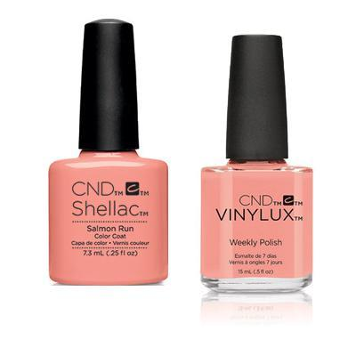 CND - Shellac & Vinylux Combo - Salmon Run