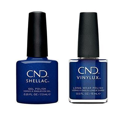 CND - Shellac & Vinylux Combo - Sassy Sapphire