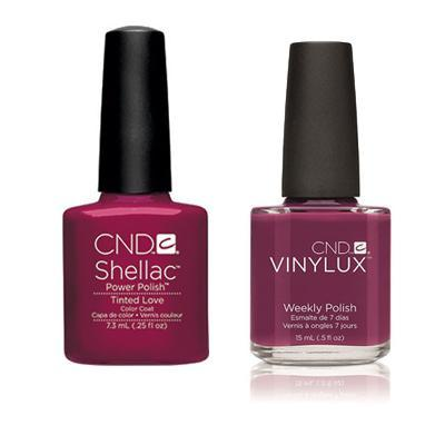 CND - Shellac & Vinylux Combo - Tinted Love
