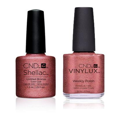 CND - Shellac & Vinylux Combo - Untitled Bronze