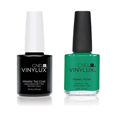 CND - Vinylux Topcoat & Art Basil 0.5 oz - #210