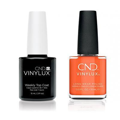 CND - Vinylux Topcoat & B-Day Candle 0.5 oz - #322