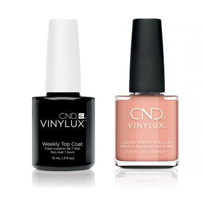 CND - Vinylux Topcoat & Baby Smile 0.5 oz - #325