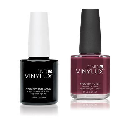 CND - Vinylux Topcoat & Decadence 0.5 oz - #111