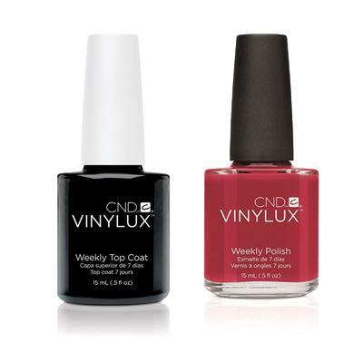 CND - Vinylux Topcoat & Hollywood 0.5 oz - #119