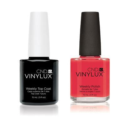 CND - Vinylux Topcoat & Lobster Roll 0.5 oz - #122