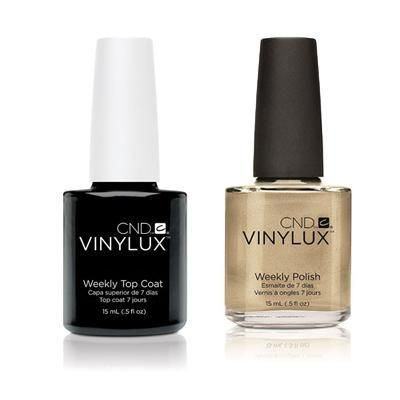 CND - Vinylux Topcoat & Locket Love 0.5 oz - #128