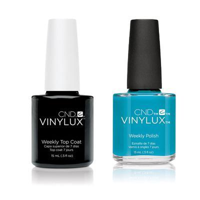 CND - Vinylux Topcoat & Lost Labyrinth 0.5 oz - #191
