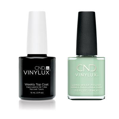 CND - Vinylux Topcoat & Magical Topiary 0.5 oz - #351