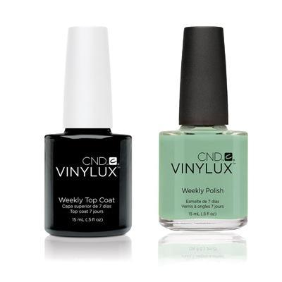 CND - Vinylux Topcoat & Mint Convertible 0.5 oz - #166