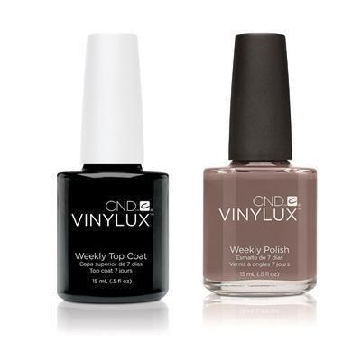 CND - Vinylux Topcoat & Rubble 0.5 oz - #144