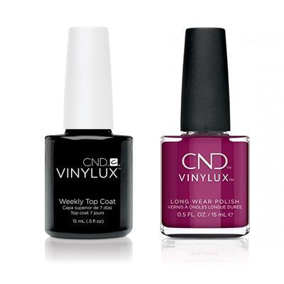 CND - Vinylux Topcoat & Secret Diary 0.5 oz - #323