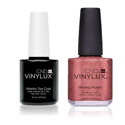 CND - Vinylux Topcoat & Untitled Bronze 0.5 oz - #212