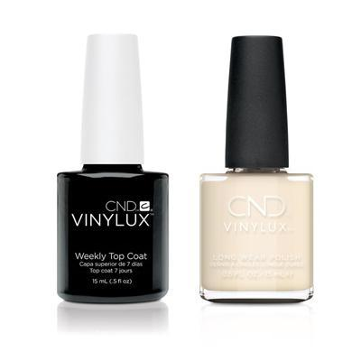 CND - Vinylux Topcoat & Veiled 0.5 oz - #320