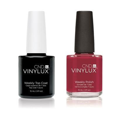 CND - Vinylux Topcoat & Wildfire 0.5 oz - #158