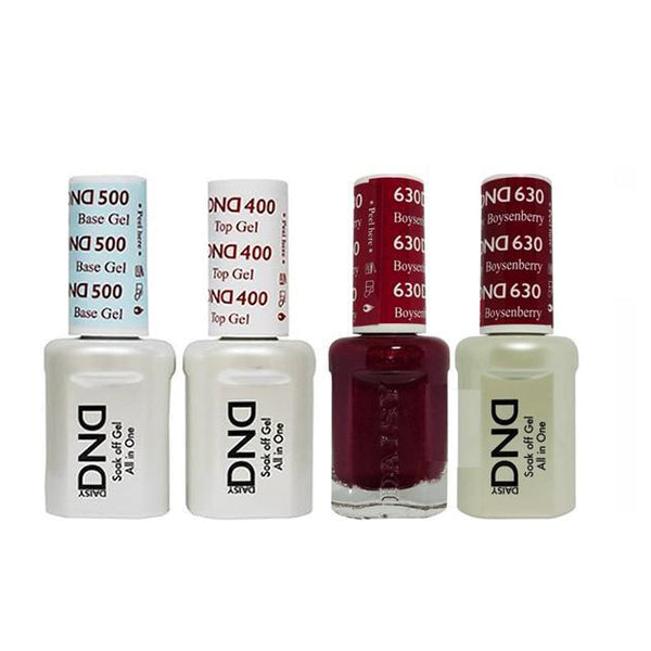 DND - Base, Top, Gel & Lacquer Combo - Boysenberry - #630