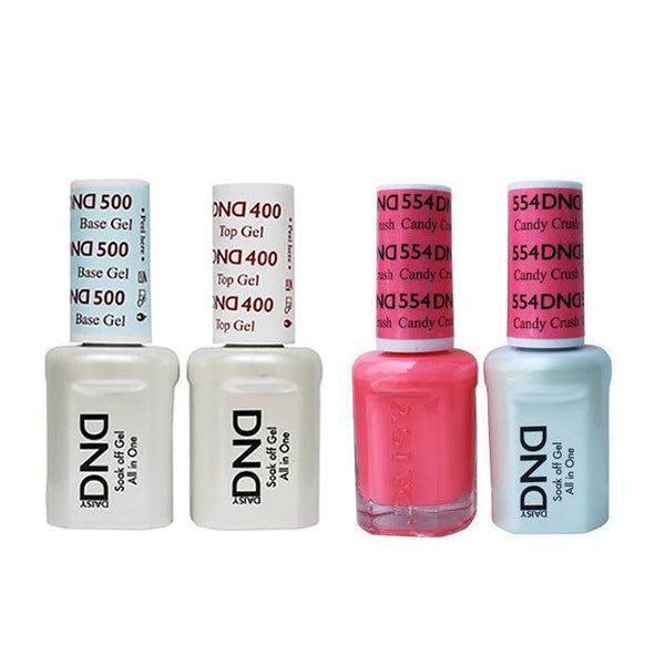 DND - Base, Top, Gel & Lacquer Combo - Candy Crush - #554
