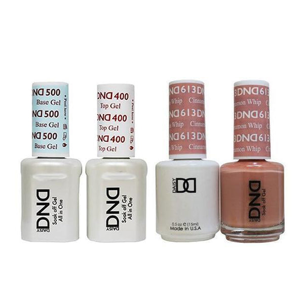 DND - Base, Top, Gel & Lacquer Combo - Cinnamon Whip - #613