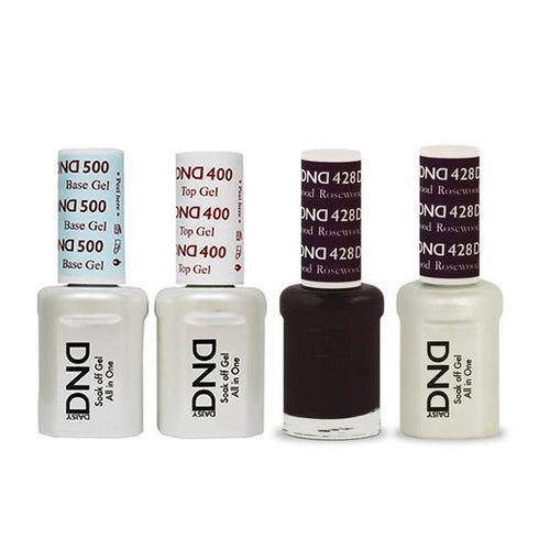 DND - Base, Top, Gel & Lacquer Combo - Rosewood - #428