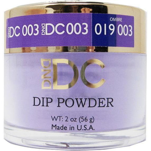DND - DC Dip Powder - Blue Violet 2 oz - #003