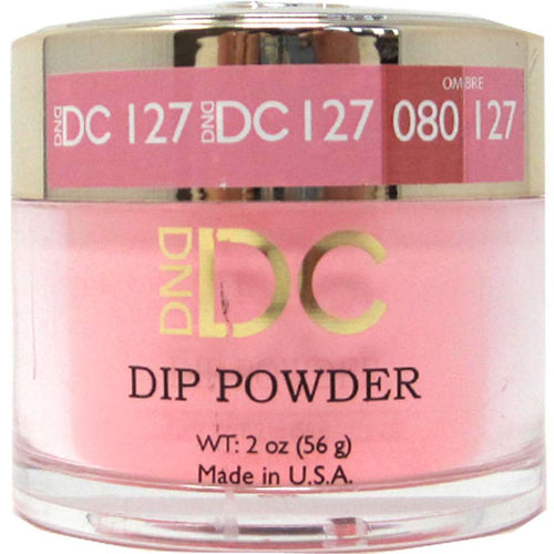 DND - DC Dip Powder - Deep Chestnut 2 oz - #127