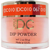 DND - DC Dip Powder - Dutch Orange 2 oz - #010