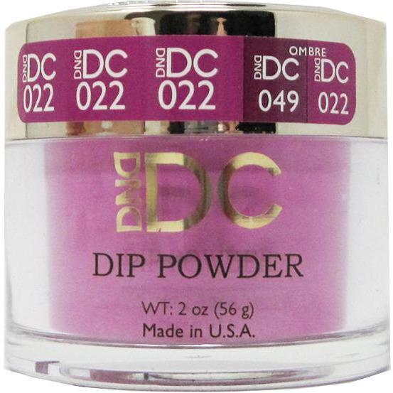 DND - DC Dip Powder - Magenta Rose 2 oz - #022