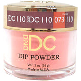 DND - DC Dip Powder - Peach Jealousy 2 oz - #110