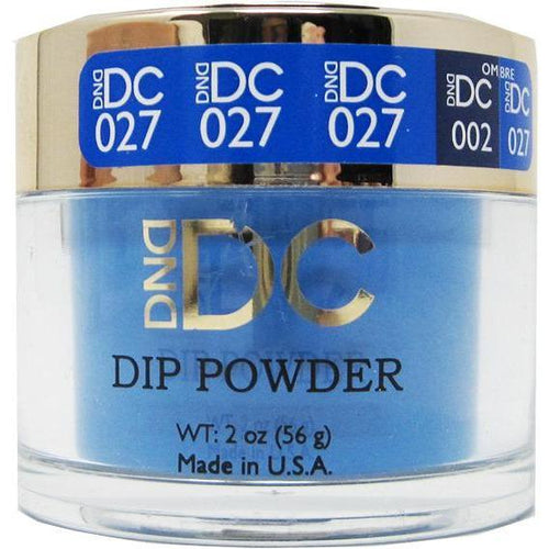 DND - DC Dip Powder - Pittsburgh Blue 2 oz - #027