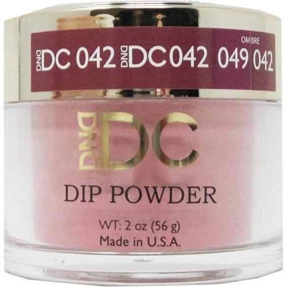 DND - DC Dip Powder - Red Cherry 2 oz - #042