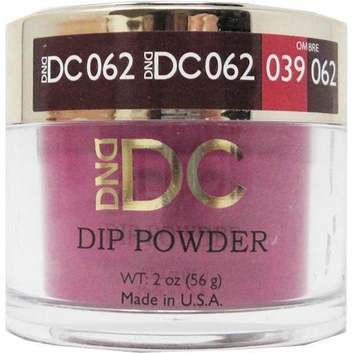 DND - DC Dip Powder - Strawberry Wine 2 oz - #062