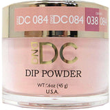 DND - DC Dip Powder - Sunny Orange 2 oz - #084