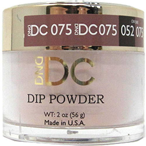 DND - DC Dip Powder - Tiramisu Slice 2 oz - #075