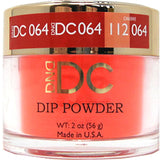 DND - DC Dip Powder - Valentine Red 2 oz - #064