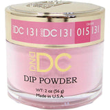DND - DC Dip Powder - White Magenta 2 oz - #131